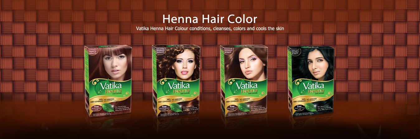 Henna Hair Color Vatika Naturals